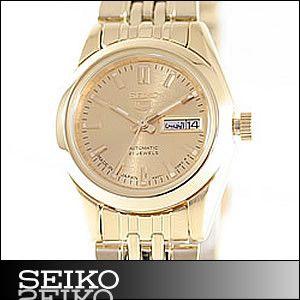 海外SEIKO海外セイコー腕時計SYMA38J1レディースSEIKO5セイコーファイブ自動巻き