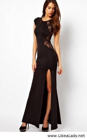 Sexy long dress.