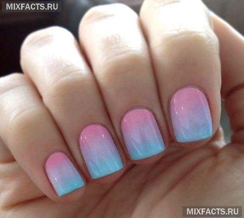 Пастельный маникюр: модный дизайн ногтей (фото)