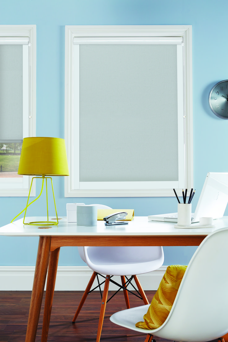 Products rollers in vogue blinds - Roller Blinds By Louvolite Boucle Grey