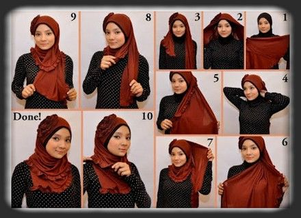How to Wear A Veil Or A Pretty New Model Trick Tips
