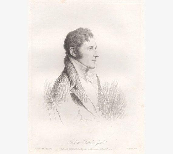 robert smirke portrait engraving Dance Daniell