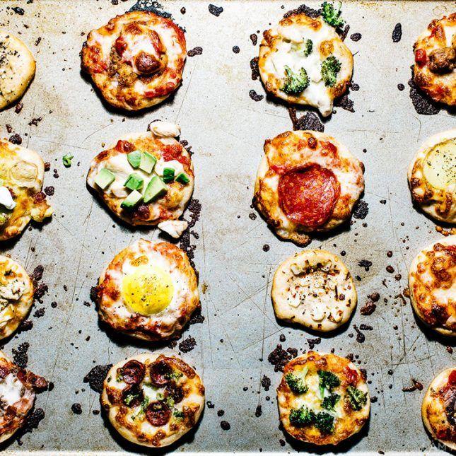 みんなでわいわいトッピング対決!簡単&本格ミニピザの作り方|i am a food blog by Stephanie Le