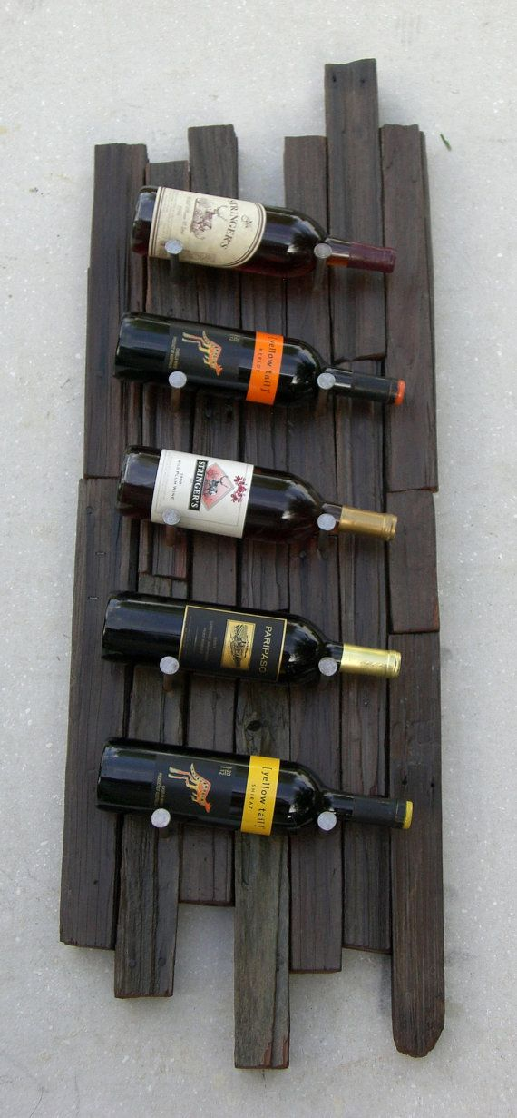 Wine rack  Upcycled wine rack