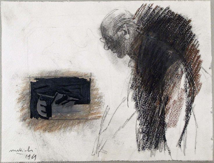 Carlo Mattioli - selfportrait