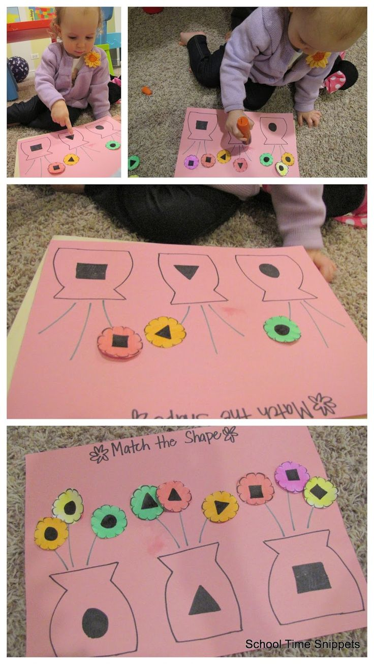 Flower Shape Sort {Free Printable} | School Time Snippets