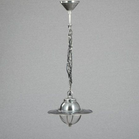 Hanging Lamp - Solid Brass Nickel Plated