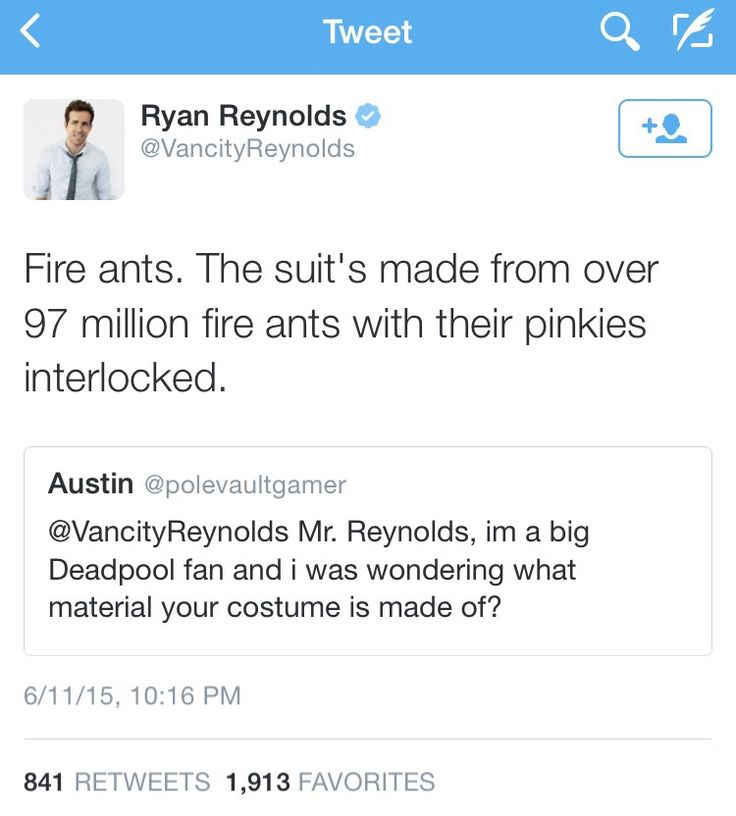 Best TweetsTumblr Images On Pinterest Ryan Oneal Funny - Ryan reynolds politely responds to fans dirty tweets and its just hilarious