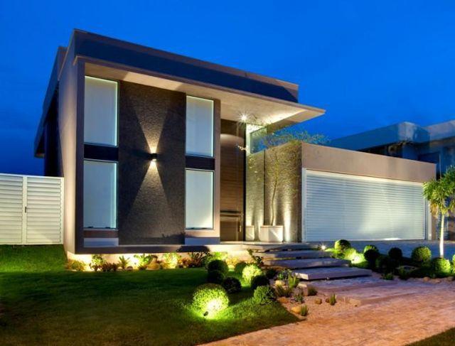 fachadas de casas com portas de entrada painisaltas veja dicas e modelos