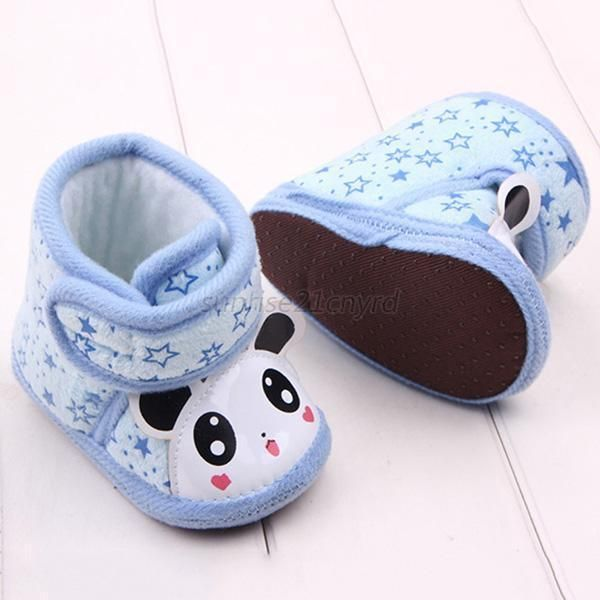 Newborn Warm Baby Girl Anti-slip Soft Sole Slipper Shoes Boots 0-12 Months U43 #Unbranded #CribShoes