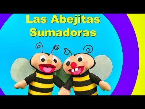 El mejor video de Los números del 1 al 10 en Español Aprender a contar  Abejitas sumadoras - YouTube