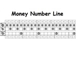 Money Number Line – To help students count coins up to a dollar.