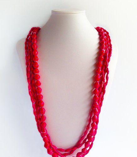 Sanura - Afri Beads Pink | Indigo Heart - Fair Trade Fashion A$39.50