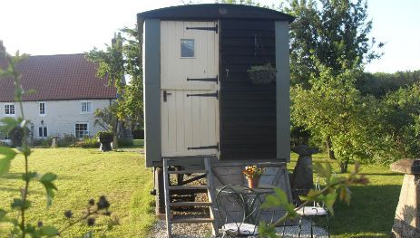 Glamping in Lincolnshire at Longwool Shepherds Huts