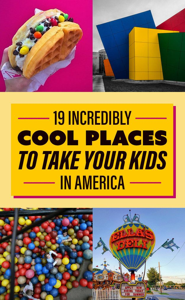 We recently asked the members of BuzzFeed Community to tell us the coolest places to take a kid in America: | 19 Places In America That Will Blow Your Kids' Minds
