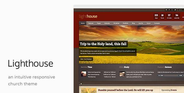 Lighthouse - Church & Charity Responsive Joomla Template - http://themesparadise.com/lighthouse-church-charity-responsive-joomla-template/