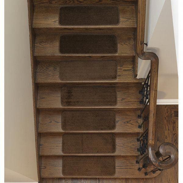 Ottomanson Comfort Collection Soft Solid Non Slip Plush Carpet | Plush Carpet Stair Treads | True Bullnose Carpet | Super Soft | Anti Slip | Wool Carpet | Wall Carpet