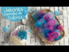 Jabones Espiral :: ideal para recuerdos o decorar tu baño :: Chuladas Creativas - YouTube
