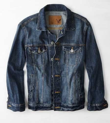 AEO Denim Jacket. A true icon. #AEOSTYLE