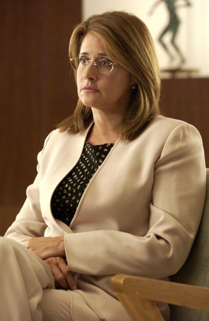 "Lorraine Bracco as Dr. Jennifer Melfi from ""The Sopranos"""