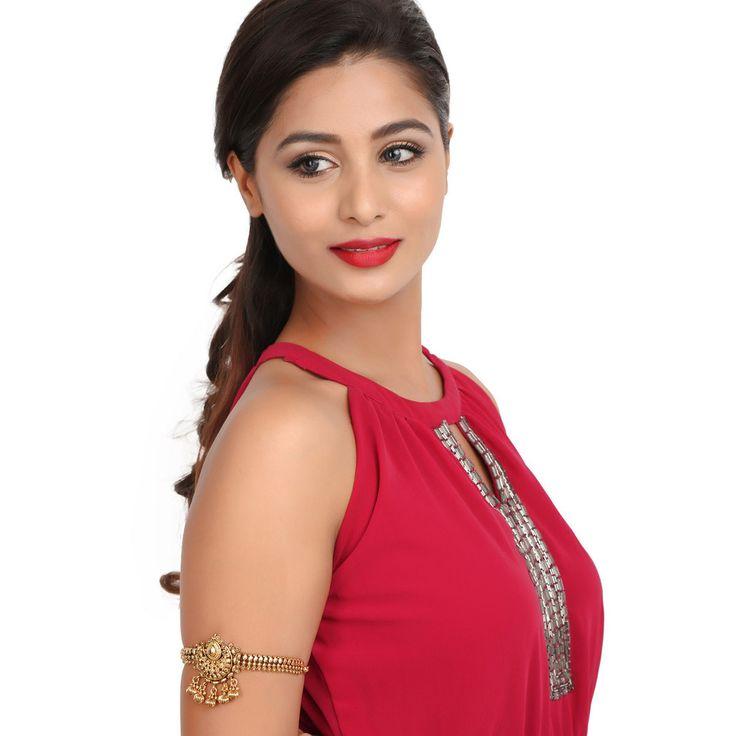 Antique BajuBand 57036 #Kushals #Jewellery #Fashion #Indian #Jewellery #Wedding #Accessories #BajuBand #Antique #Festive