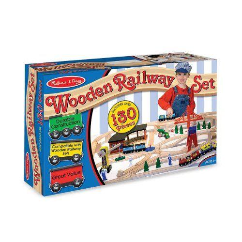 70 piece wooden train set instructions