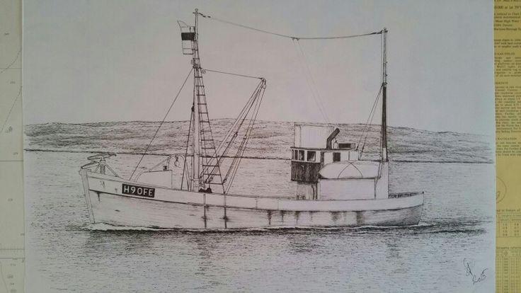 "Whaler ""Sigmor"" of Fedje Norway"