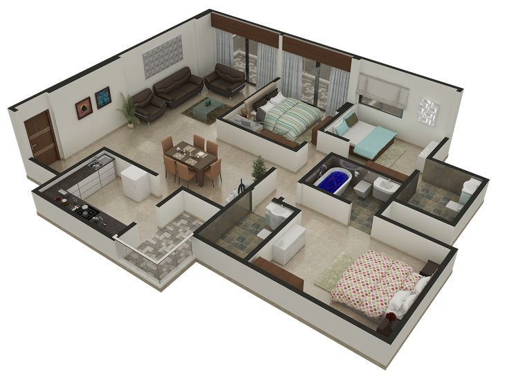 Image result for floor plan rendering 3d | Bloxburg//Roblox ... on minecraft house designs, club penguin house designs, runescape house designs, 7 days to die house designs, the sims house designs, garry's mod house designs, terraria house designs, habbo house designs, ultima online house designs, archeage house designs, unturned house designs,