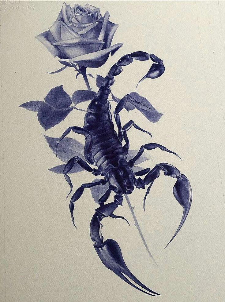 Картинки и тату с скорпионом