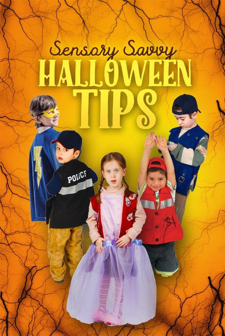 Sensory Halloween ideas good blog information