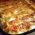cannelloni épinard ricotta viande hachée
