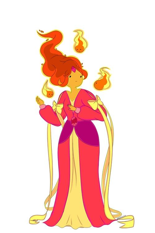256 best adventure time images on pinterest cartoon network flame princess by randomistics on deviantart princess bubblegumadventure timefan voltagebd Images