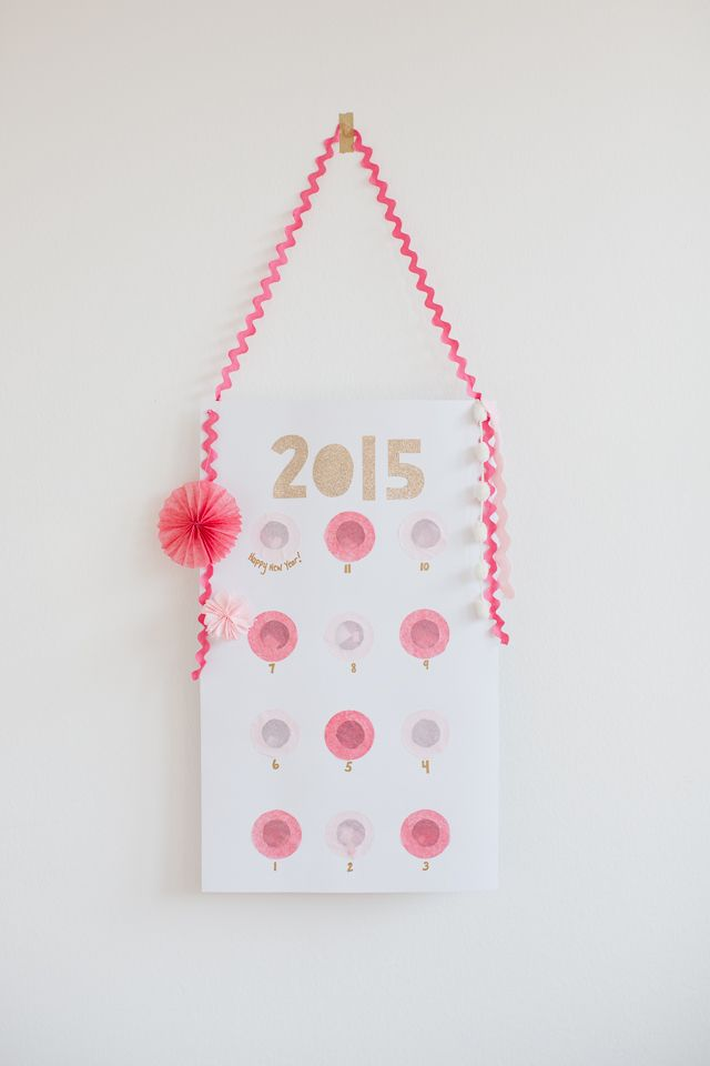 DIY New Years Countdown Activity