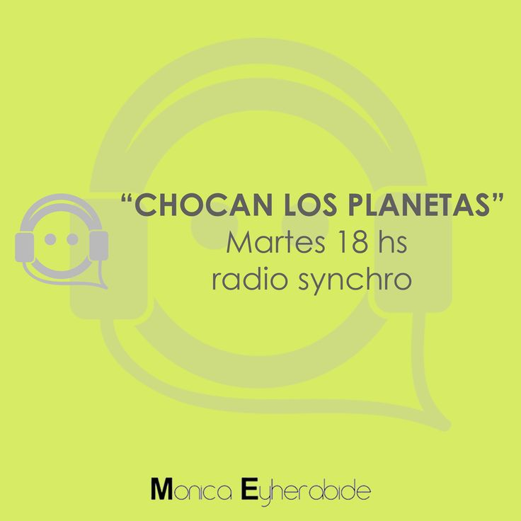 On Air #radio #Listen #astrology #astrologia #monicaeyherabide #onair #radiosynchro www.radiosynchro.com