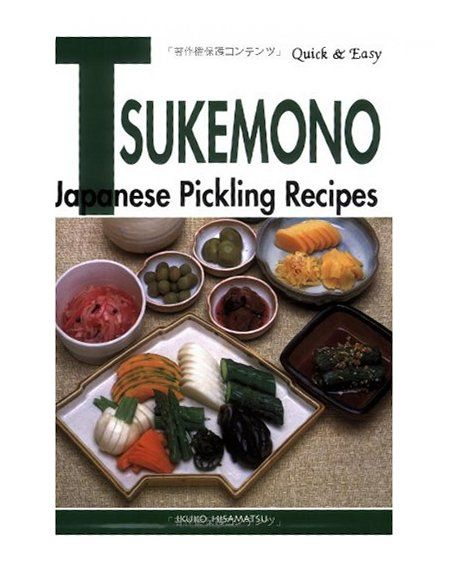 "Introduction to quick Japanese tsukemono (pickles).  This picture is of a book about making pickles, but this links to a site that has a few links to pickle recipes.  It also has the ""Key components of quick Japanese pickles"""