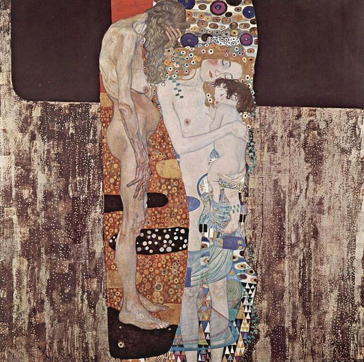 Gustav Klimt - The Three Ages of Woman, 1905 (gustavklimt.com)