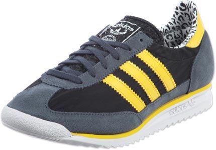 Adidas SL 72  grau schwarz gelb