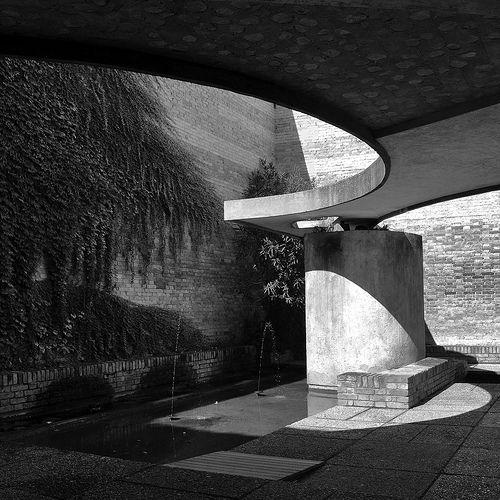 carlo scarpa, architect: biennale sculpture garden, giardino delle sculture, venice 1950-1952 | Flickr - Photo Sharing!