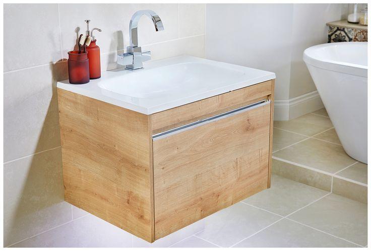 Mineralcast washbasin unit with paleto tap #halo #modular #brassware #tap #bathroomfurniture #myutopia