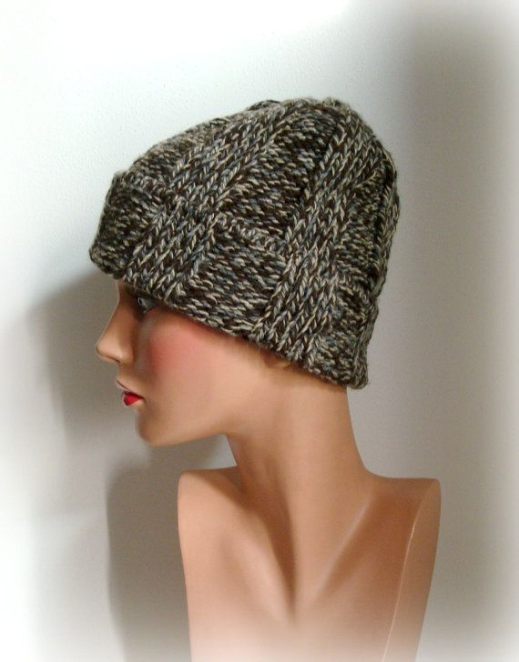 SALE was 35 Knitted Hat  Hand Knit Hat Womens Hat  by InkaBoutique, $25.00