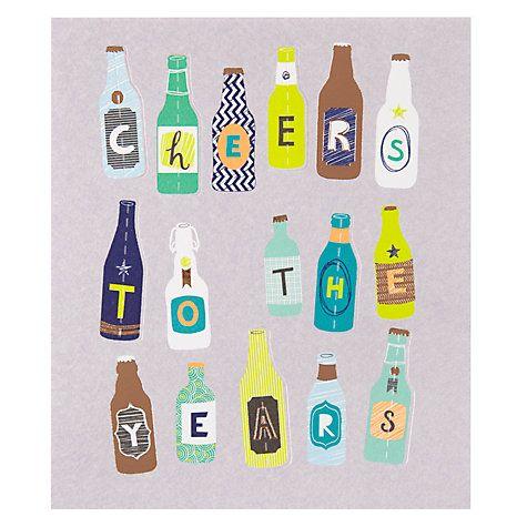 Buy Paperlink Beers Birthday Card Online at johnlewis.com