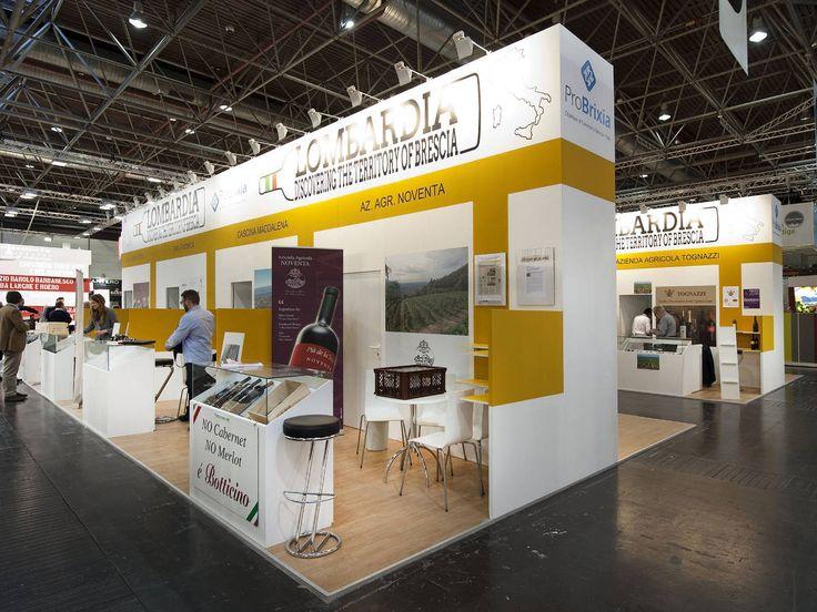 Prowein - Düsseldorf: PRO-BRIXIA. Ricerca, analisi, promozione e comunicazione. Progettazione e realizzazione dell'allestimento dello stand. Photo by honegger