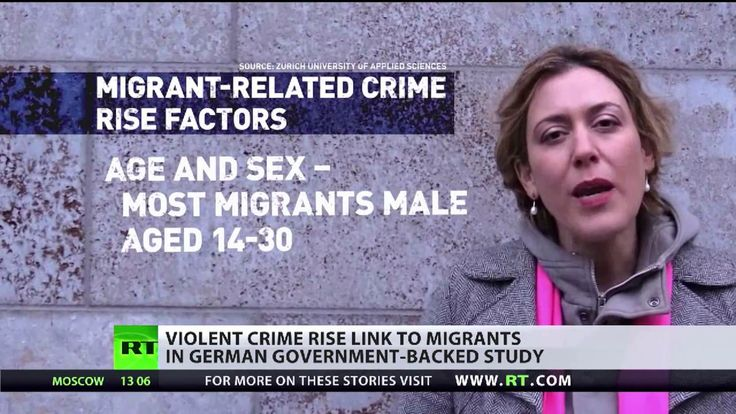 Violent crime rise link to migrants in German government-backed study
