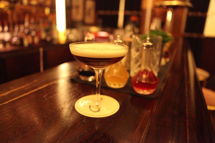 Enjoy a 'White Russian' with a chocolate twist at Brasserie Zedel.