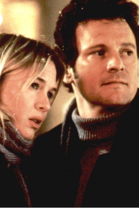 Bridget Jones's Diary: Renée Zellweger (Bridget Jones) and Colin Firth (Mark Darcy)