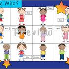 AKA Guess Who? Version 3:  Family Characters This is a simple oral language game you can play in your Jr primary or elementary class.  Open the mai...