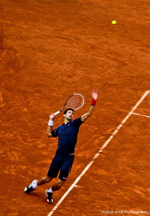 Novak Djokovic @ Roland Garros