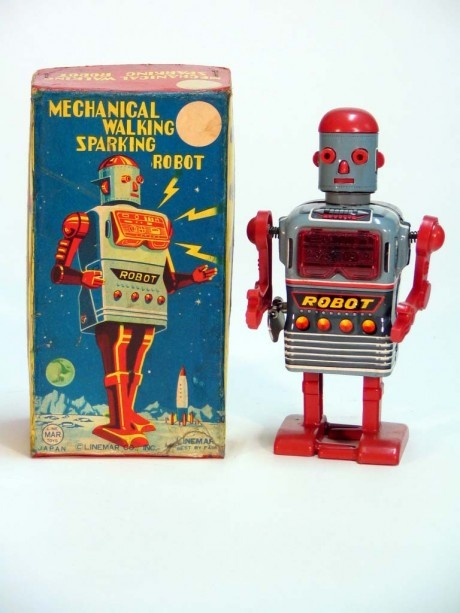 More Great Vintage Japanese Tin Space Toys 1950′s – 1960′s