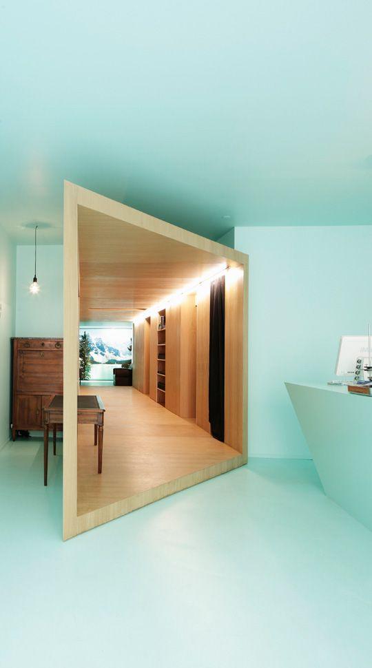 Helicosm, Paris. Store interior.