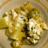 Fotografie receptu: Zapečená růžičková kapusta s brambory